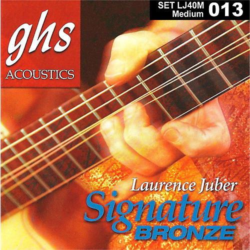 GHS Laurence Juber Signature Bronze Medium Strings