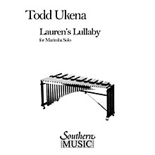 Hal Leonard Lauren's Lullaby (Percussion Music/Mallet/marimba/vibra) Southern Music Series Composed by Ukena, Todd