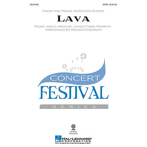 Hal Leonard Lava SATB arranged by Roger Emerson