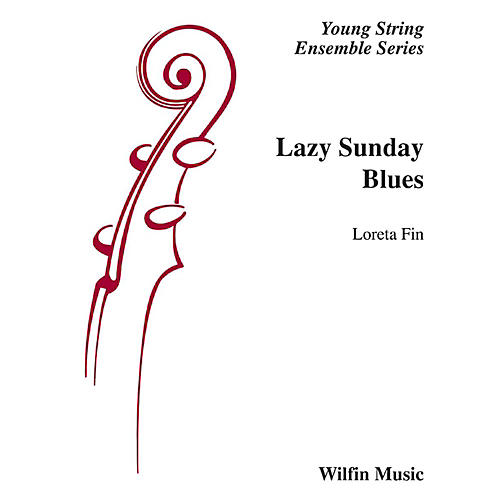 Alfred Lazy Sunday Blues String Orchestra Grade 2 Set