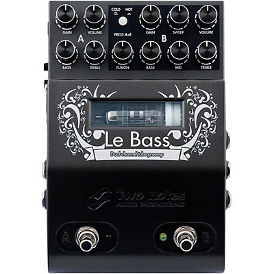 Two Notes Audio Engineering Le Bass Preamp Bass Effects Pedal