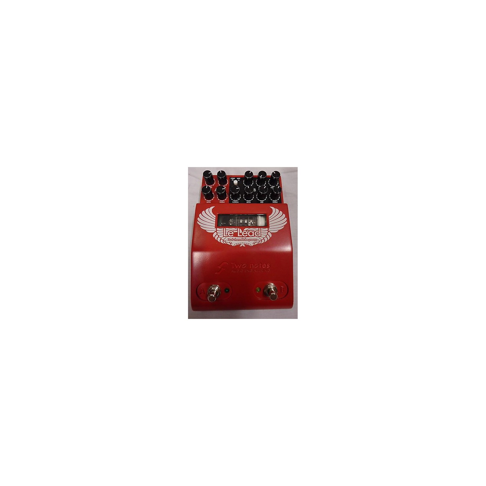 Two Notes Le Lead Dual Channel Tube Guitar Preamp