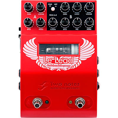 Two Notes Audio Engineering Le Lead Preamp Effects Pedal