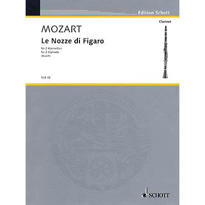 Schott Le Nozze di Figaro Schott Softcover Composed by Wolfgang Amadeus Mozart Arranged by Johann Georg Busch