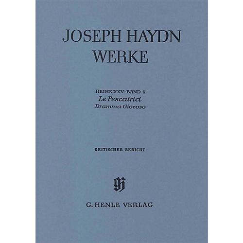 G. Henle Verlag Le Pescatrici - Dramma Giocoso Henle Edition Series Hardcover