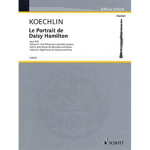 Schott Le Portrait de Daisy Hamilton, Op. 140 Woodwind Solo Series