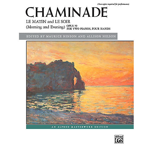 Alfred Le matin and Le soir (Morning and Evening), Op. 79 - Advanced Book (2 copies required)