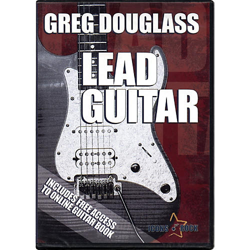 Music Star Productions Lead Guitar with Greg Douglass DVD