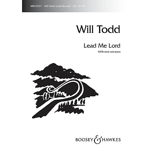 Boosey and Hawkes Lead Me Lord SATB composed by Will Todd