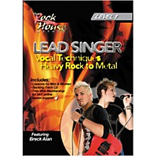 Hal Leonard Lead Singer Vocal Techniques From Heavy Rock to Metal DVD Level 1