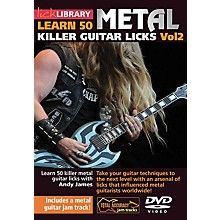 Licklibrary Learn 50 Metal Killer Guitar Licks (Volume 2) Lick Library Series DVD Performed by Andy James