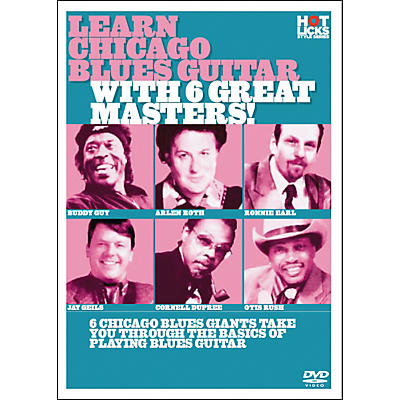 Hot Licks Learn Chicago Blues with 6 Great Masters DVD