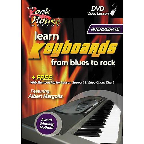 Hal Leonard Learn Keyboards From Blues to Rock Intermediate DVD