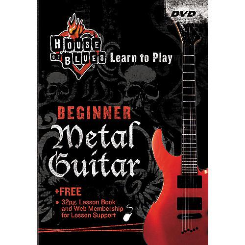 Hal Leonard Learn Metal Guitar Beginner (DVD)