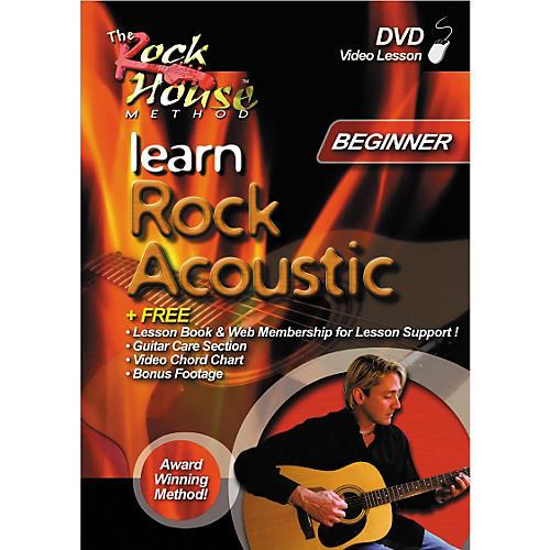 Rock House Learn Rock Acoustic Beginner (DVD)