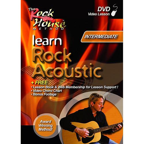 Rock House Learn Rock Guitar Acoustic-Intermediate (DVD)