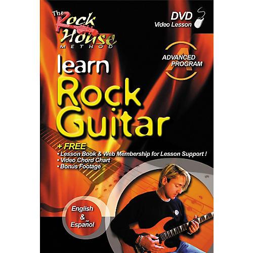 Rock House Learn Rock Guitar Advanced DVD