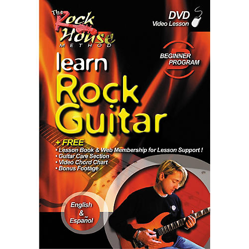 Rock House Learn Rock Guitar Beginner DVD