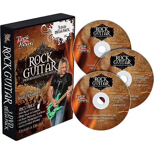 Rock House Learn Rock Guitar: Beginner, Intermediate, and Advanced (3-DVD package)