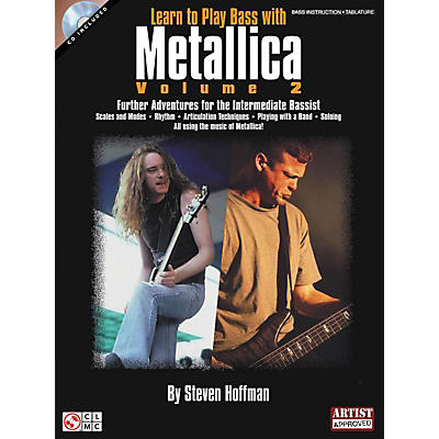 Hal Leonard Learn To Play Bass with Metallica Volume 2 Book with CD