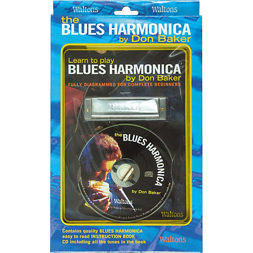 Waltons Learn To Play Blues Harmonica Book and CD