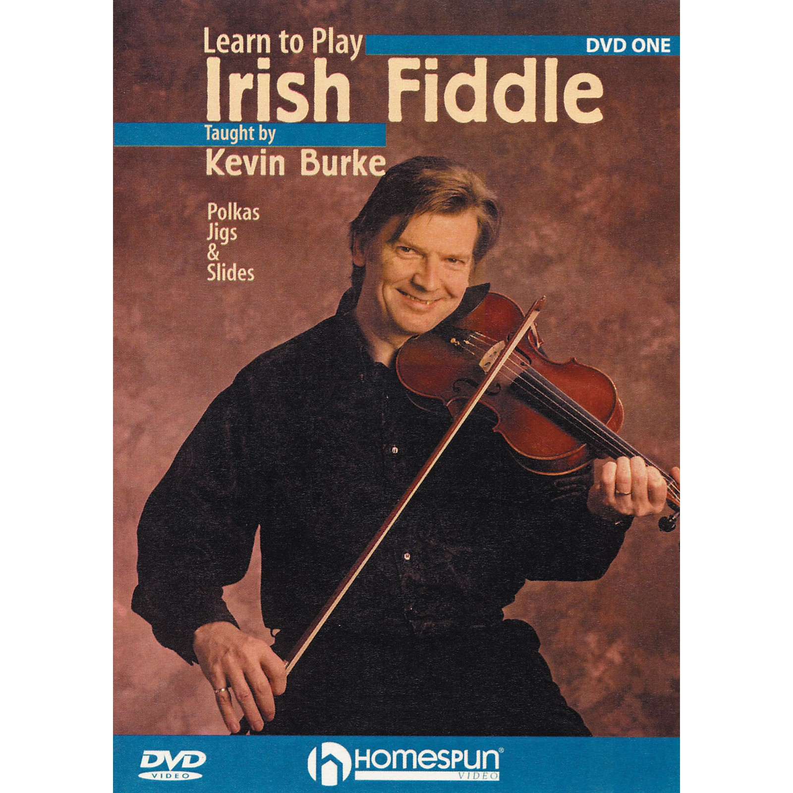 Homespun Learn To Play Irish Fiddle Lesson One (DVD)