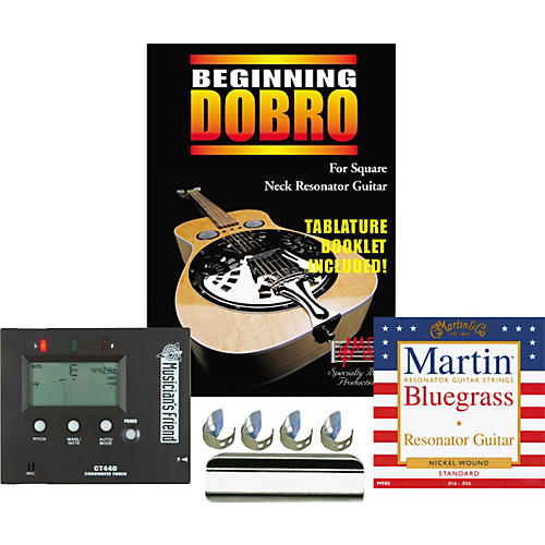 Musician's Friend Learn the Resonator Pack