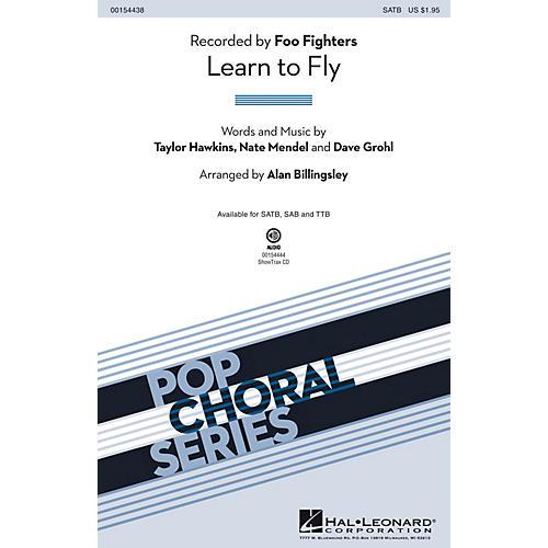 Hal Leonard Learn to Fly SATB by Foo Fighters arranged by Alan Billingsley