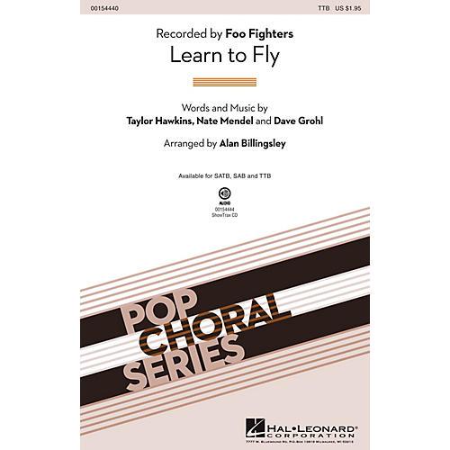 Hal Leonard Learn to Fly TTB by Foo Fighters arranged by Alan Billingsley