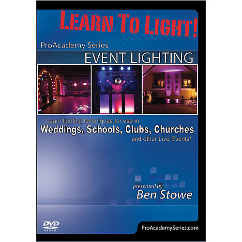 Alfred Learn to Light Pro Academy Series Event Lighting DVD