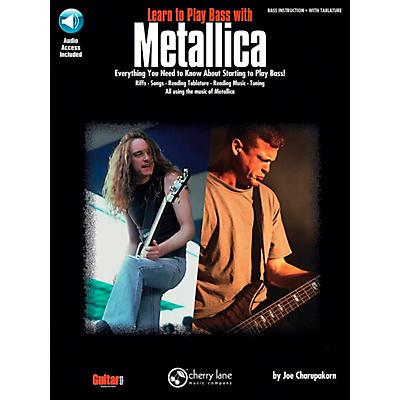 Hal Leonard Learn to Play Bass with Metallica Book/CD