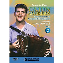 Homespun Learn to Play Cajun Accordion DVD/Instructional/Folk Instrmt Series DVD Written by Dirk Powell