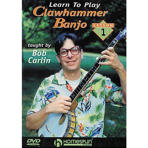 Homespun Learn to Play Clawhammer Banjo 1: The Basics (DVD)