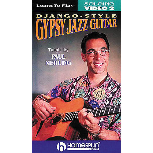 Homespun Learn to Play Django-Style Gypsy Jazz Guitar 2 (VHS)