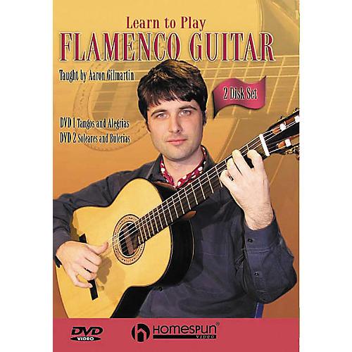 Homespun Learn to Play Flamenco Guitar 2-Video Set (DVD)