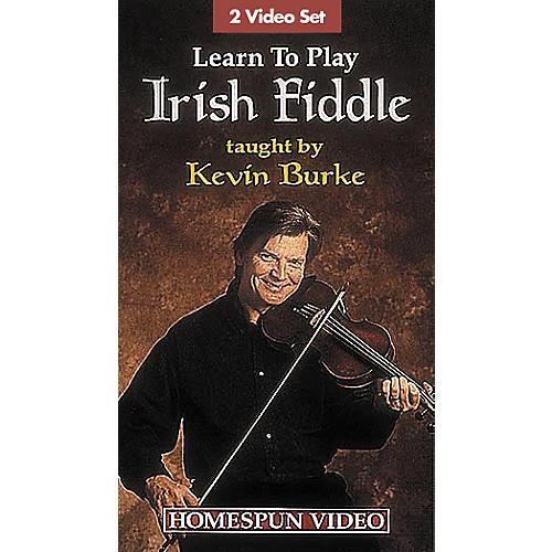Hal Leonard Learn to Play Irish Fiddle - 2-Video Set