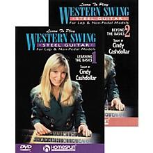 Homespun Learn to Play Western Swing Steel Guitar 2 DVD Set