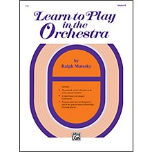 Alfred Learn to Play in the Orchestra Book 1 Violin II