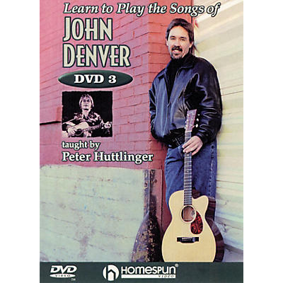 Homespun Learn to Play the Songs of John Denver Instructional/Guitar/DVD Series DVD Written by Pete Huttlinger