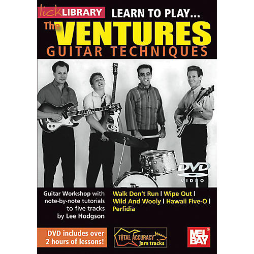 Hal Leonard Learn to Play the Ventures Guitar Techniques