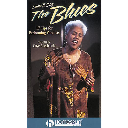 Hal Leonard Learn to Sing the Blues Video