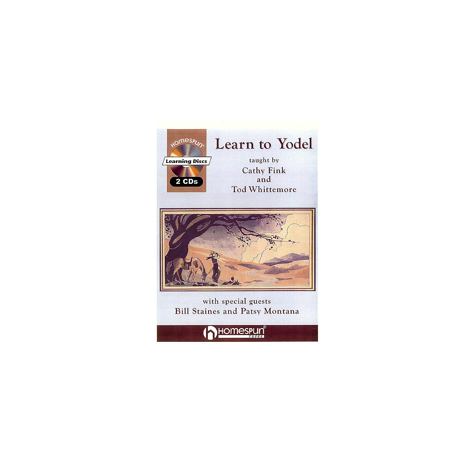 Homespun Learn to Yodel Homespun Tapes Series  by Cathy Fink