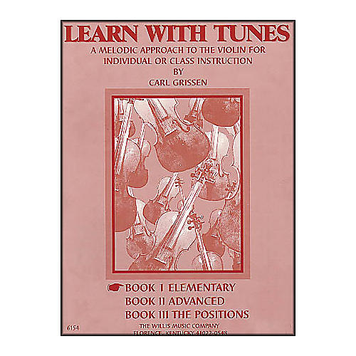 Willis Music Learn with Tunes Book 1 Elementary for Violin