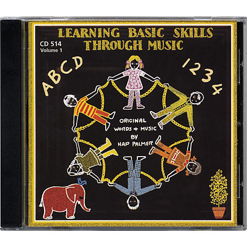 Educational Activities Learning Basic Skills Through Music - Volume 1 (CD)