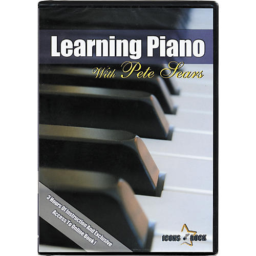Music Star Productions Learning Piano with Pete Sears DVD