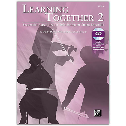 Suzuki Learning Together 2 Viola Book & CD