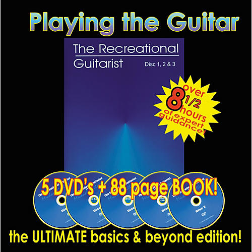 MVP Learning the Guitar 5-DVD Set with Book