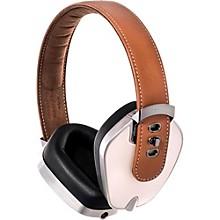 Leather & Aluminum Headphones Coffee/Cream