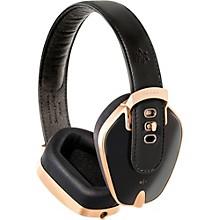 Leather & Aluminum Headphones Heavy Gold