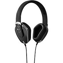 Leather & Aluminum Headphones Pure Black